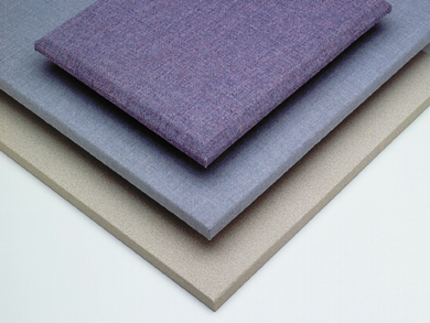 Fabric covered acoustical panels
