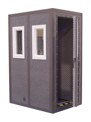 how to build an isolation booth