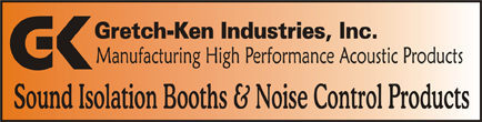Acoustic Composites, Acoustical Composites of foam and mass loaded vinyl barrier