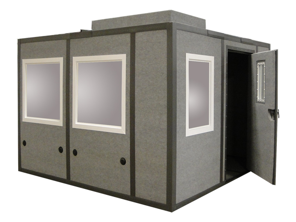 10x10 sound booth