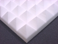 pyramid pattern Melamine acoustic foam